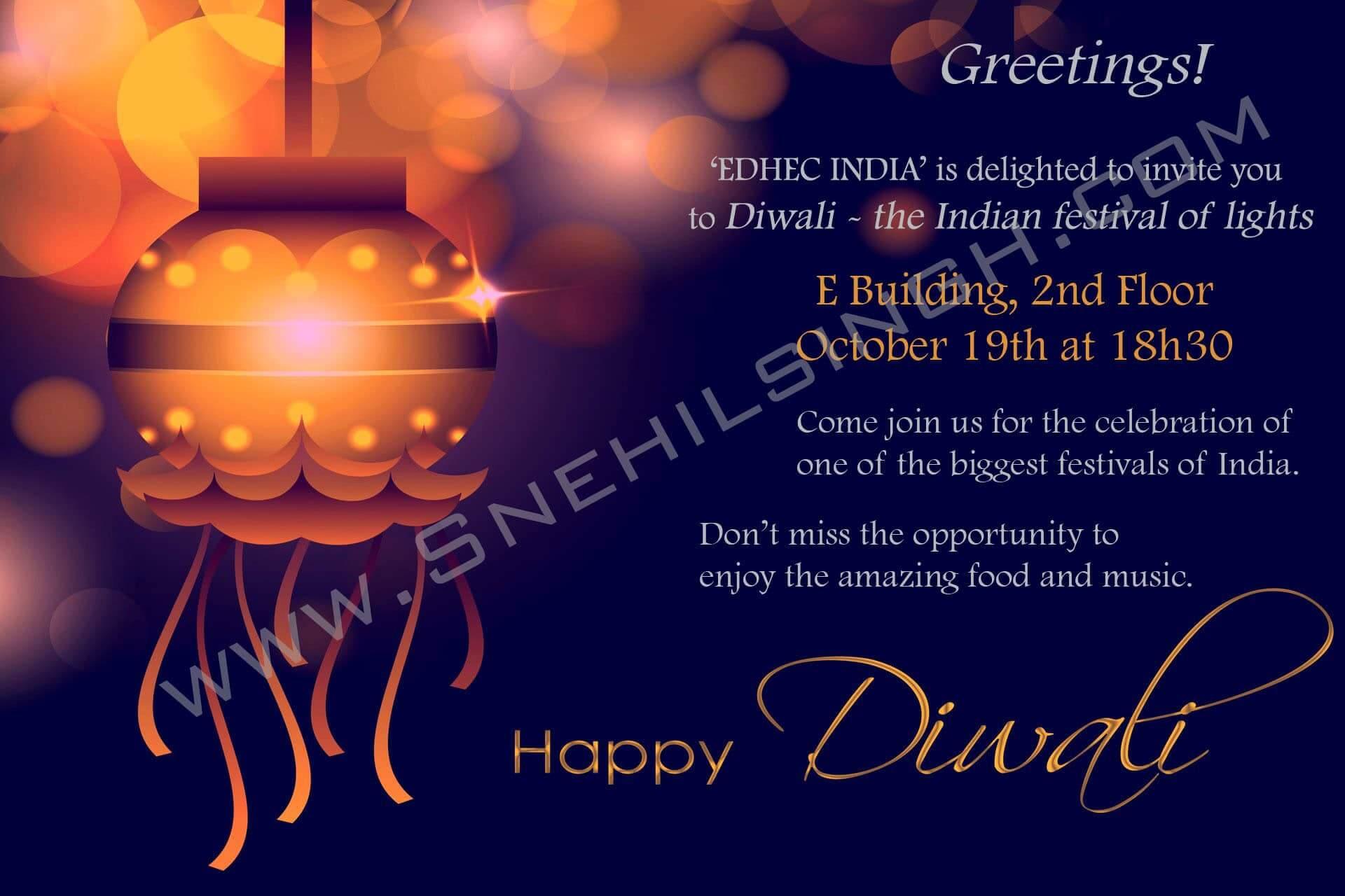 EDHEC India Invitation