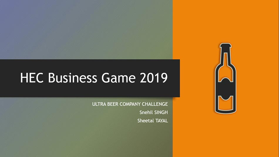 HEC Business Game 2019